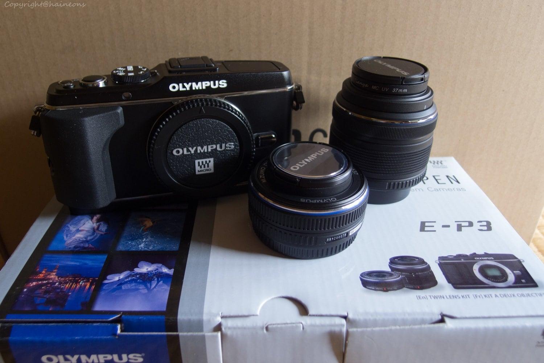 Olympus E-P3 TLKit