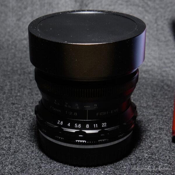 Pergear 7.5mm F2.8