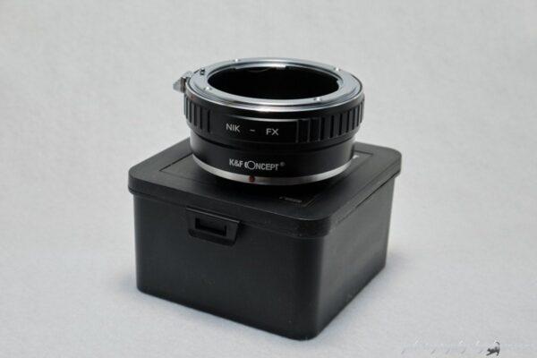 NikonF - X mount